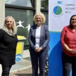 "Bundesministerin Lambrecht besucht Projekt ""Campus Neckarstadt-West"""