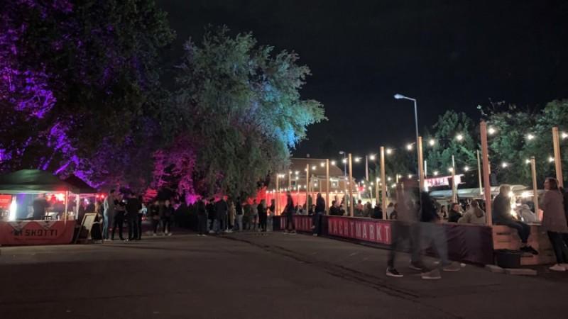 Eröffnung des Nachtmarkts am Alten Stromwerk 2020 | Foto: privat