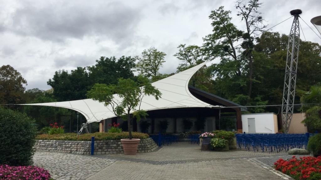 Die Konzertmuschel im Herzogenriedpark (Archivbild 2015) | Foto: M. Schülke